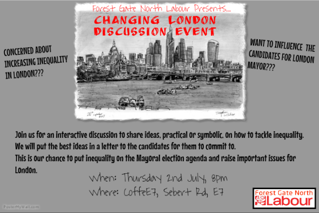 FGN Changing London Ward Meeting Flyer