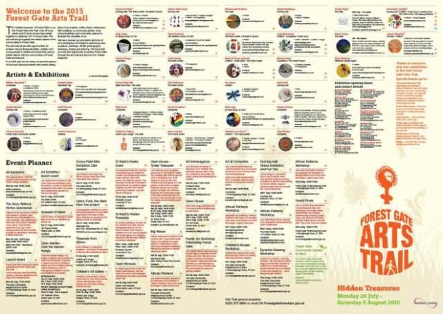 FG ArtsTrail List Artists& Ex